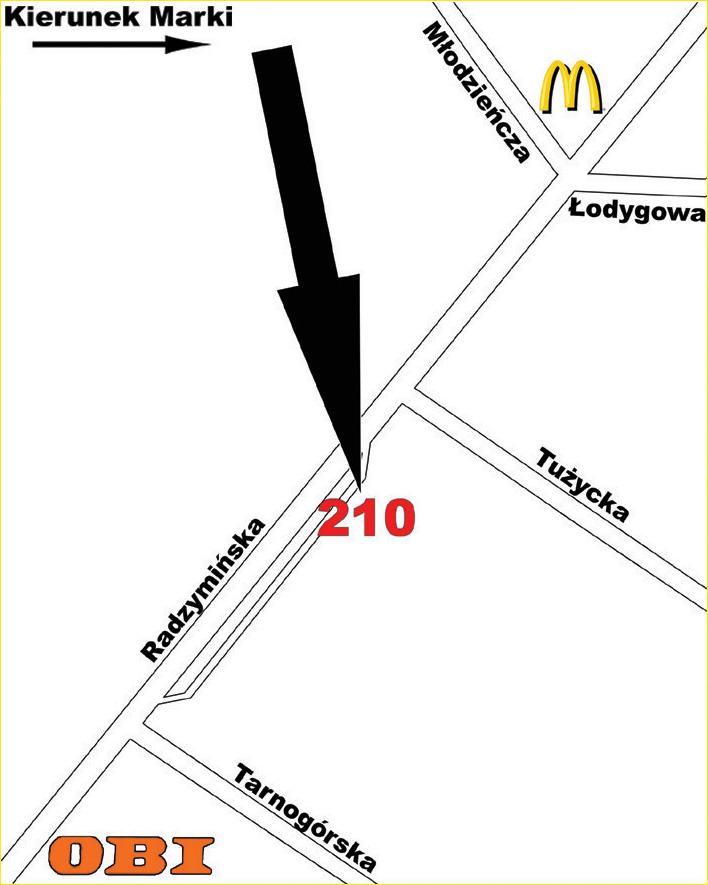 DOJAZD DO NAS - Radzymińska 210 03-674 Warszawa